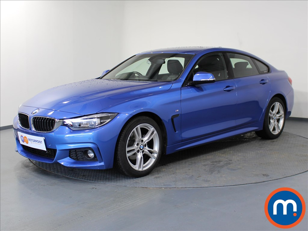 BMW 4 Series M Sport - Stock Number 1059557 Passenger side front corner