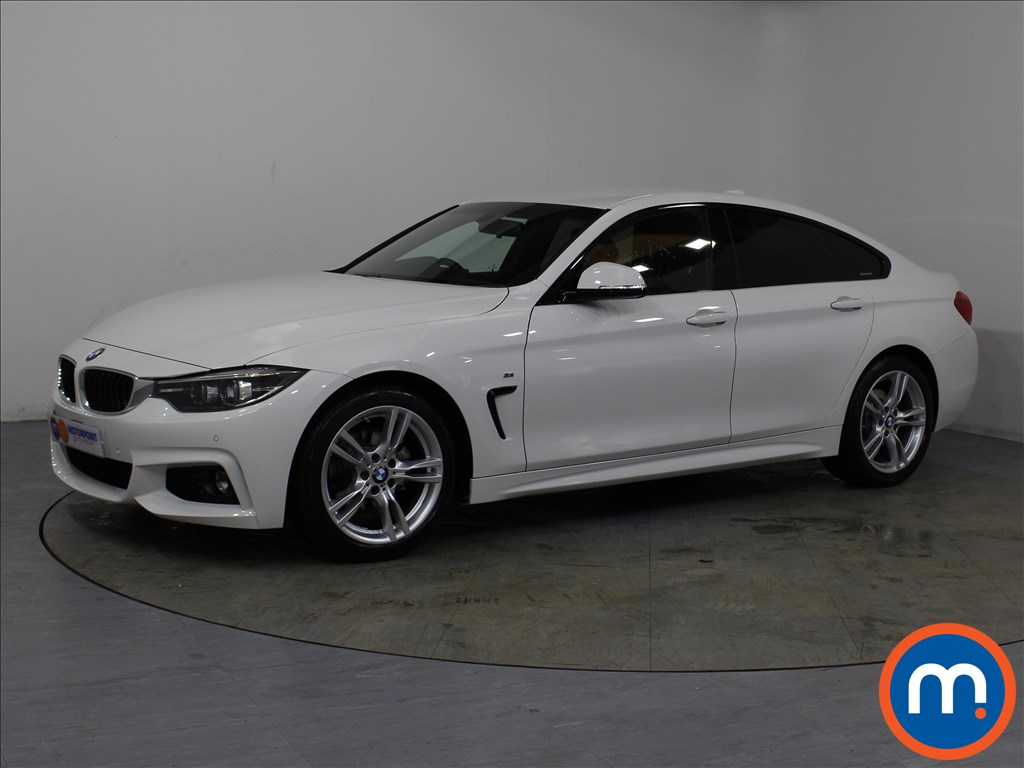 BMW 4 Series M Sport - Stock Number 1057974 Passenger side front corner