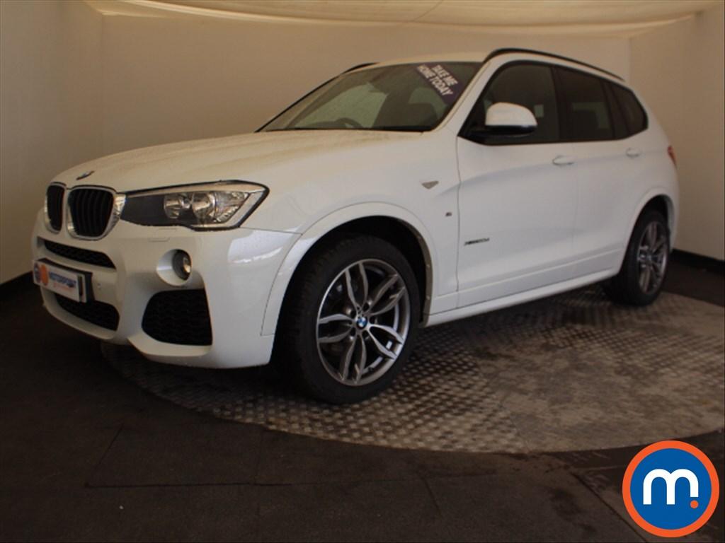 BMW X3 M Sport - Stock Number 1058270 Passenger side front corner