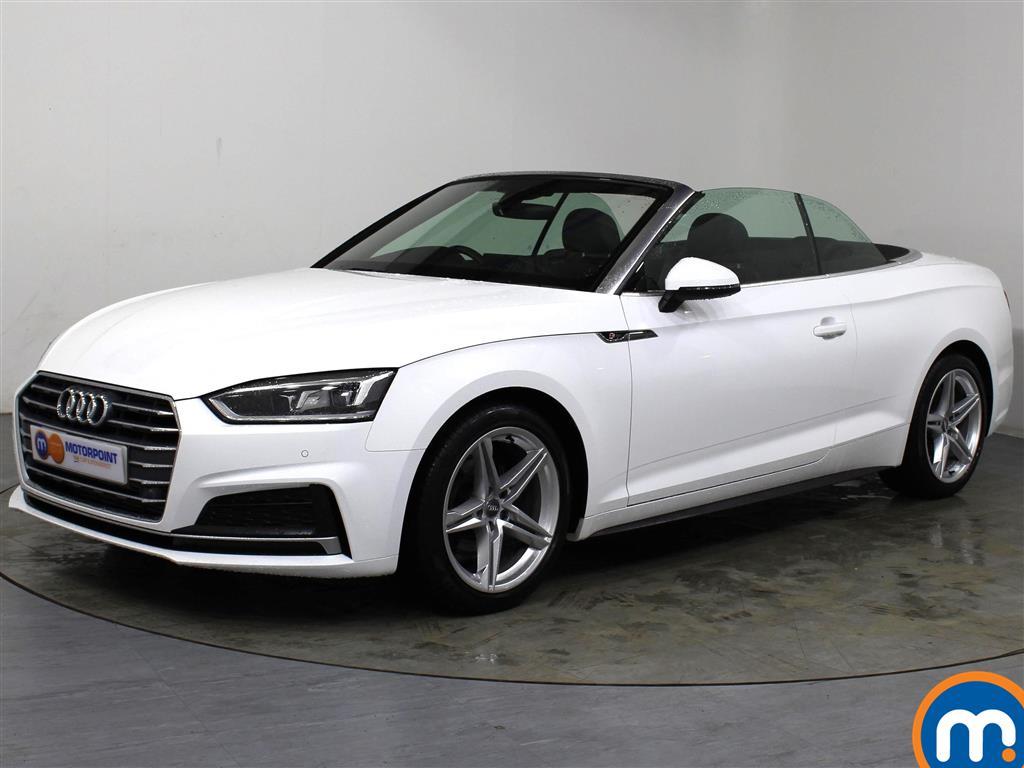 Audi A5 S Line - Stock Number 1057545 Passenger side front corner