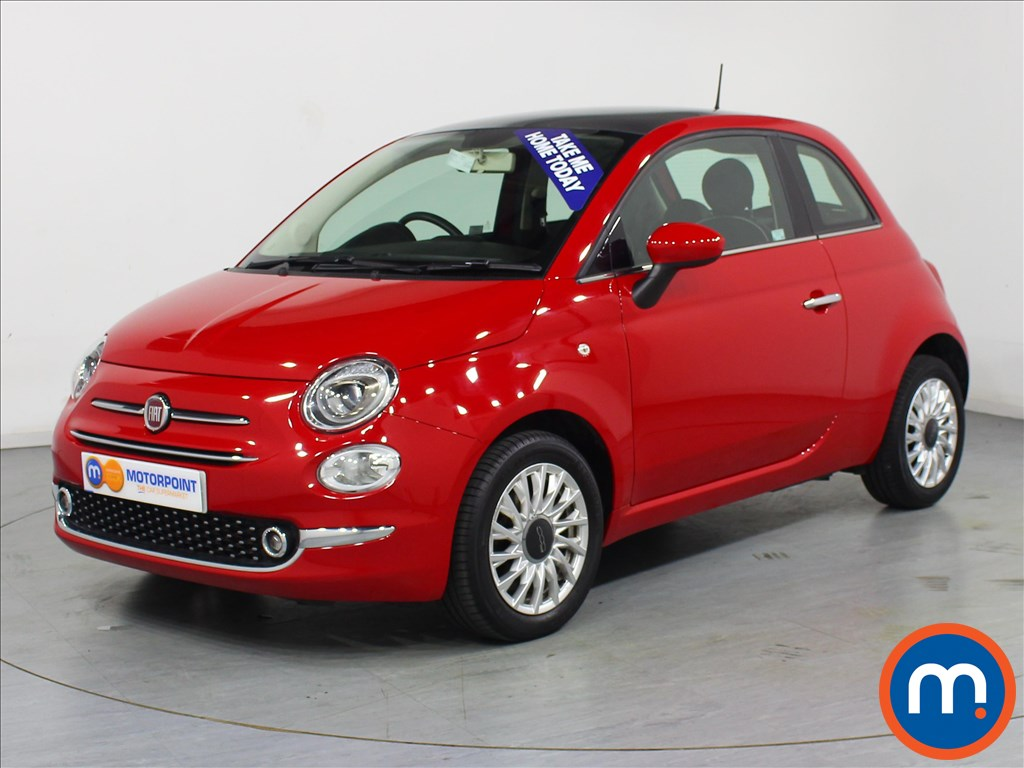 Fiat 500 Lounge - Stock Number 1057828 Passenger side front corner