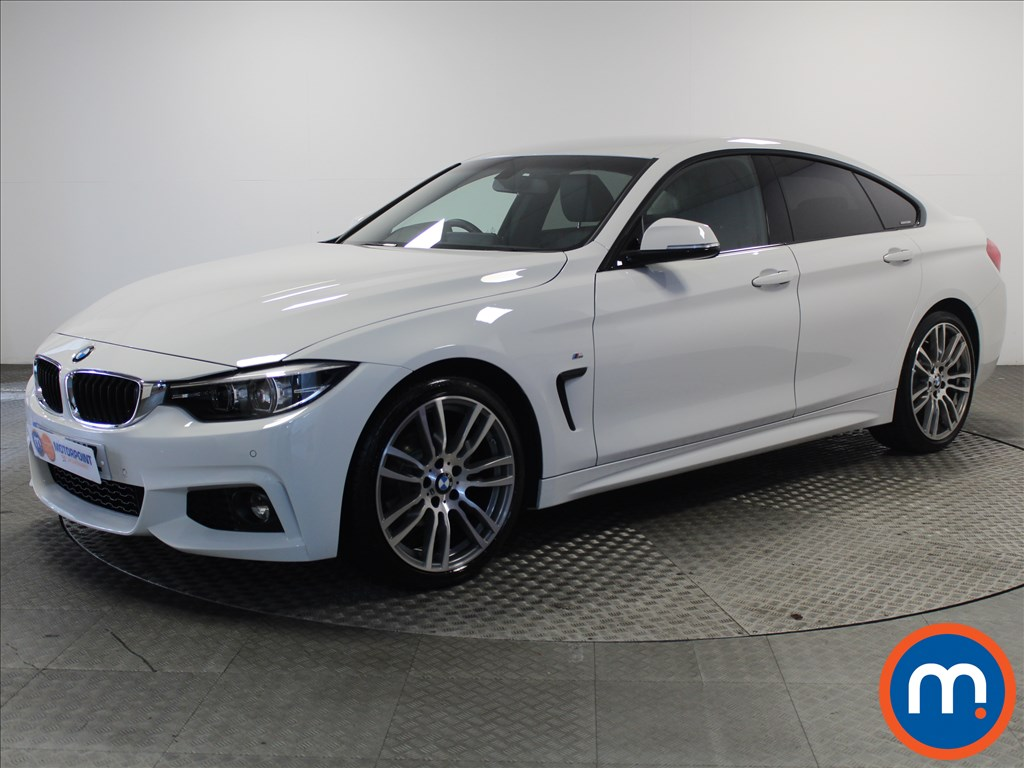 BMW 4 Series M Sport - Stock Number 1053983 Passenger side front corner