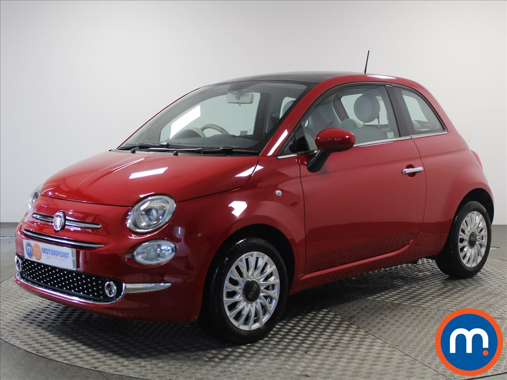Fiat 500 Lounge - Stock Number 1057860 Passenger side front corner