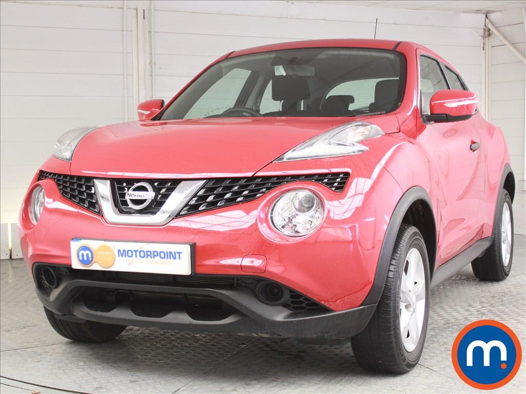 Nissan Juke Visia - Stock Number 1059272 Passenger side front corner