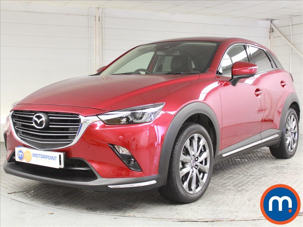 Mazda Cx-3 Sport Nav -Plus - Stock Number 1061080 Passenger side front corner