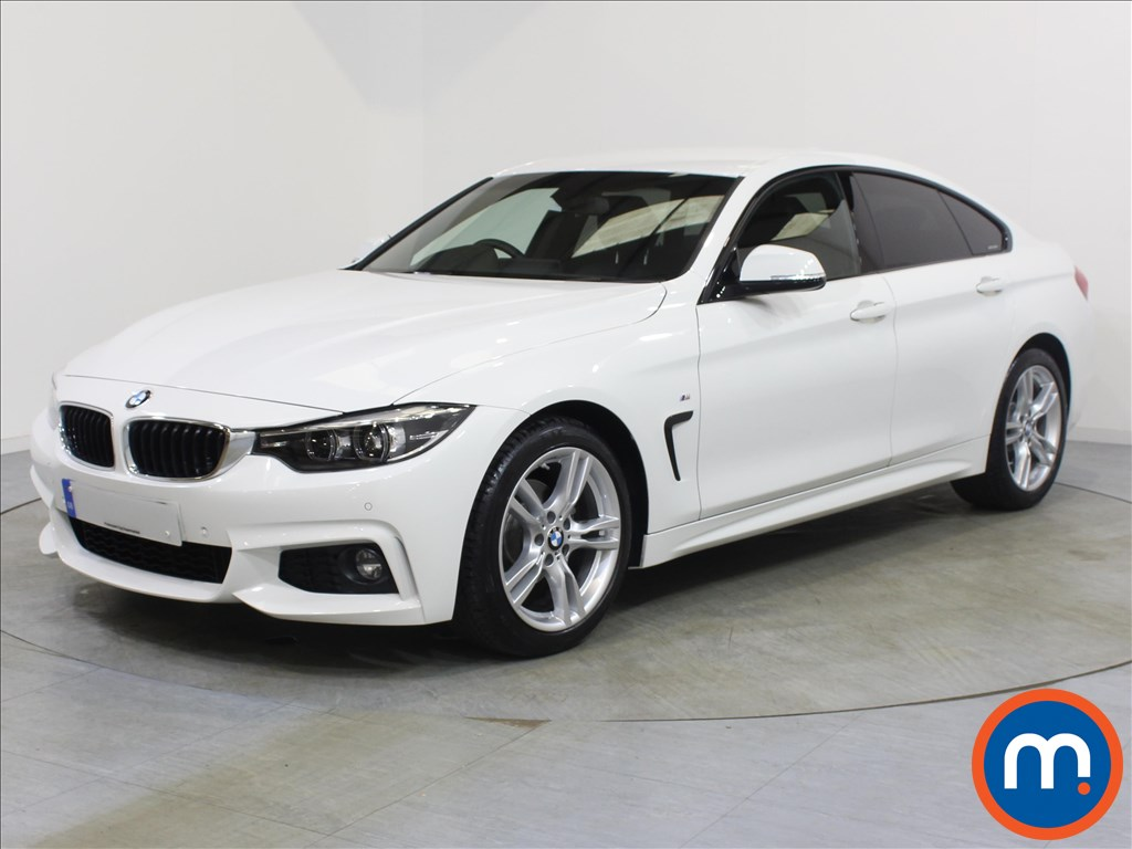 BMW 4 Series M Sport - Stock Number 1057957 Passenger side front corner