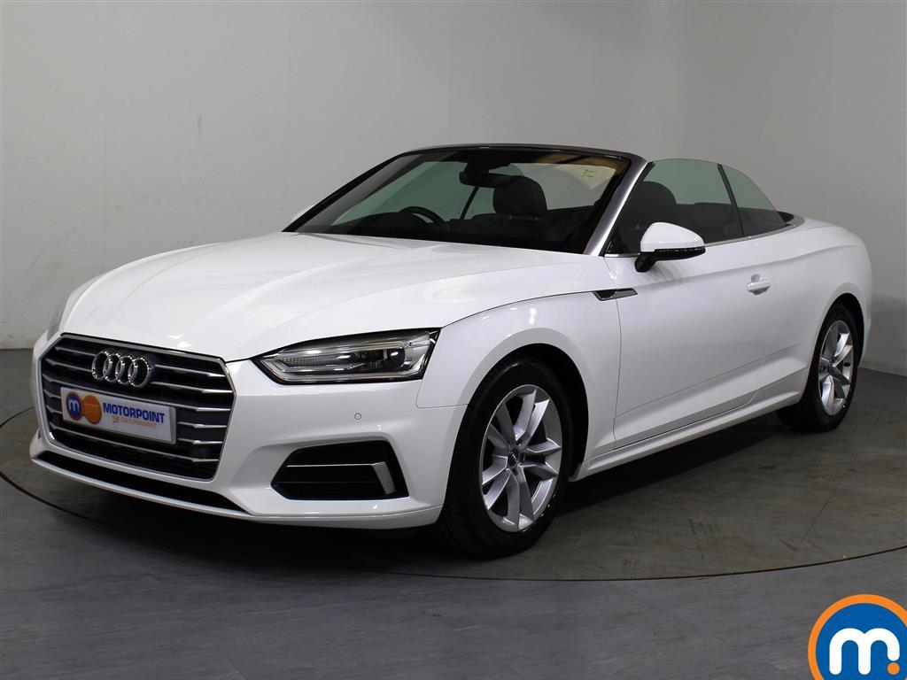 Audi A5 Sport - Stock Number 1057555 Passenger side front corner