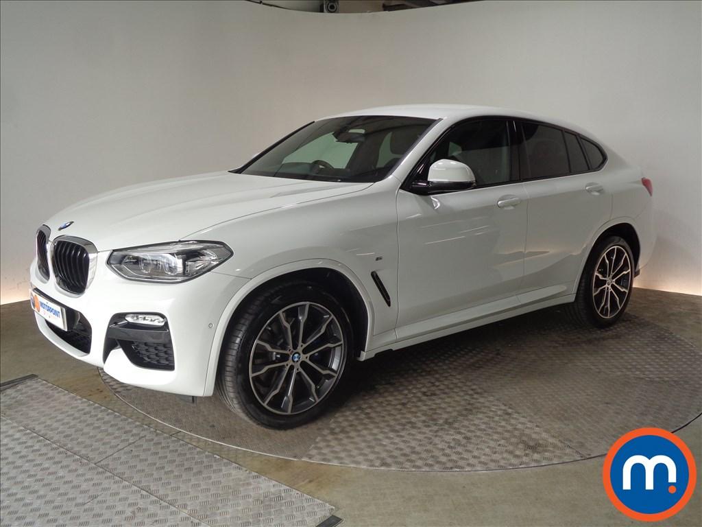BMW X4 M Sport - Stock Number 1057686 Passenger side front corner
