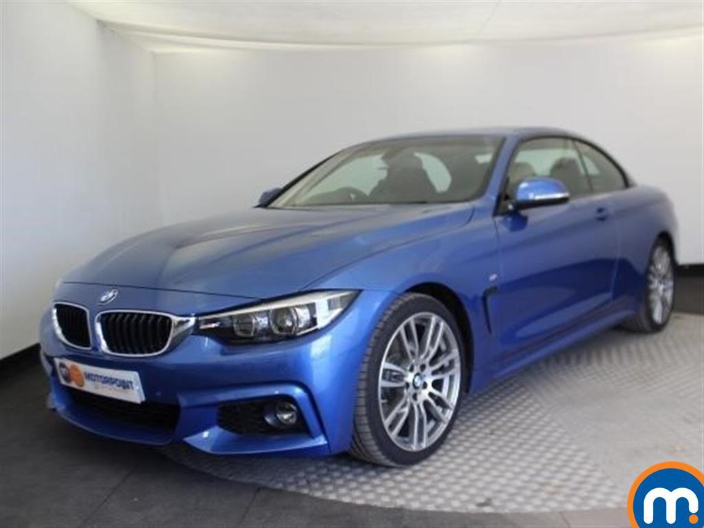 BMW 4 Series M Sport - Stock Number 1061721 Passenger side front corner