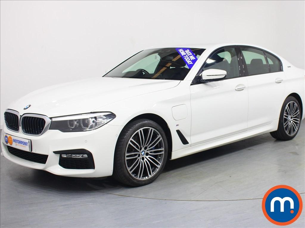 BMW 5 Series M Sport - Stock Number 1061208 Passenger side front corner