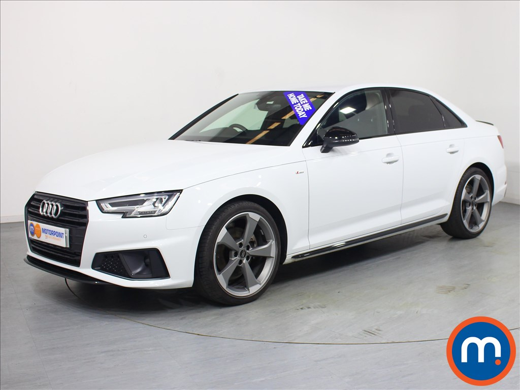 Audi A4 Black Edition - Stock Number 1057719 Passenger side front corner
