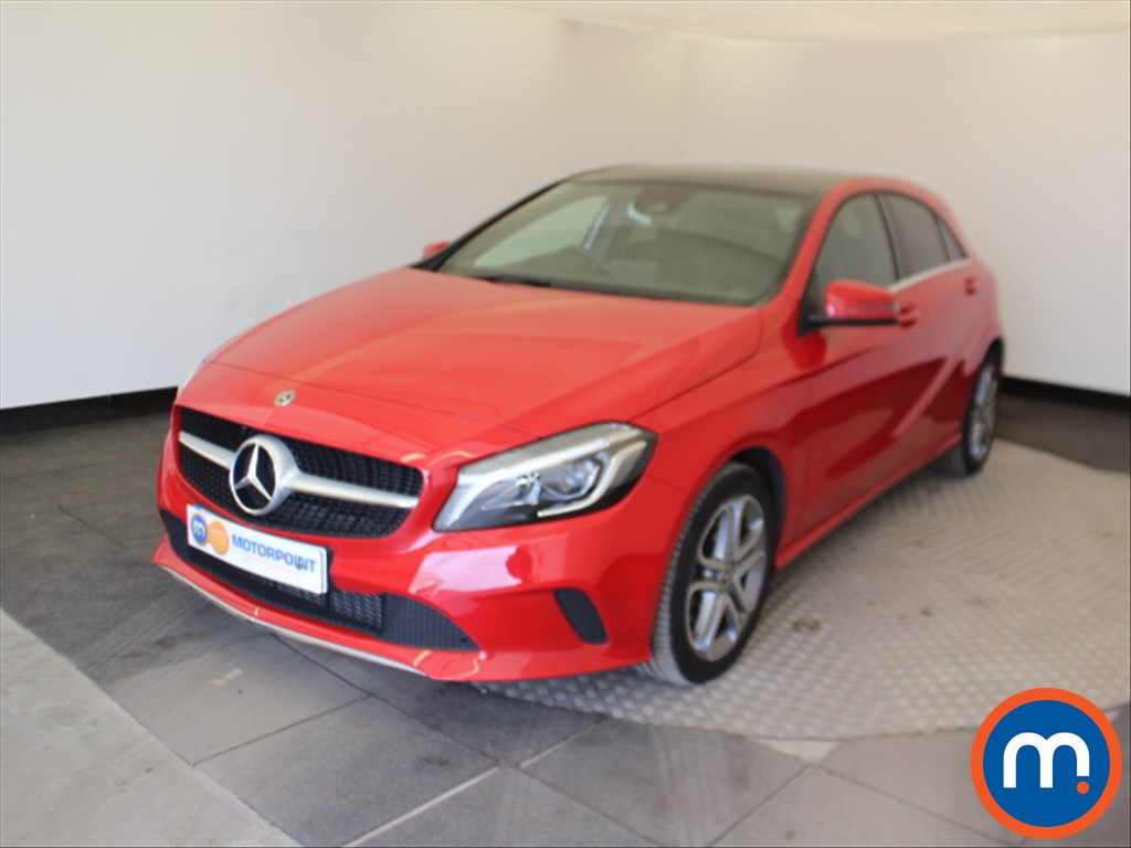 Mercedes-Benz A Class Sport Edition - Stock Number 1061818 Passenger side front corner