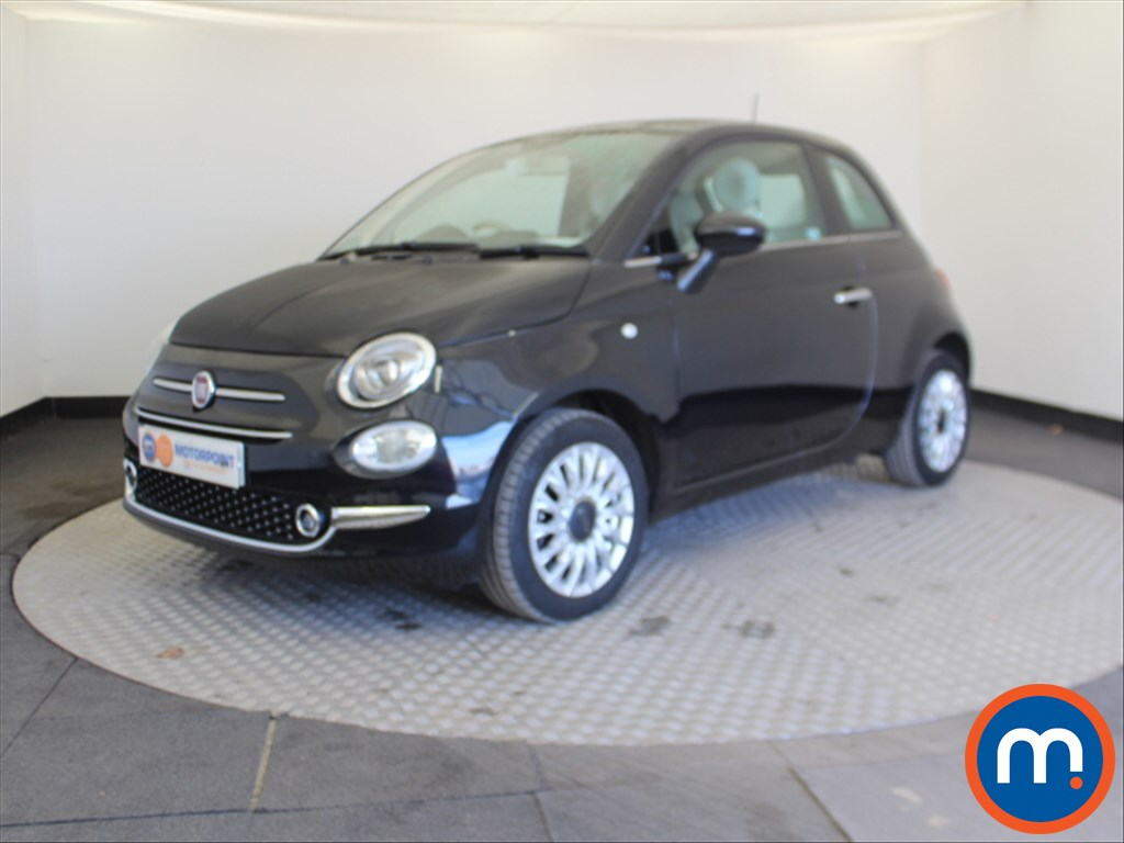 Fiat 500 Lounge - Stock Number 1062142 Passenger side front corner