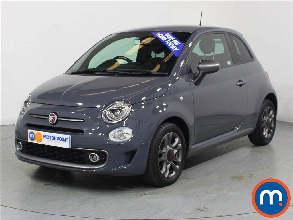 Fiat 500 S - Stock Number 1060773 Passenger side front corner