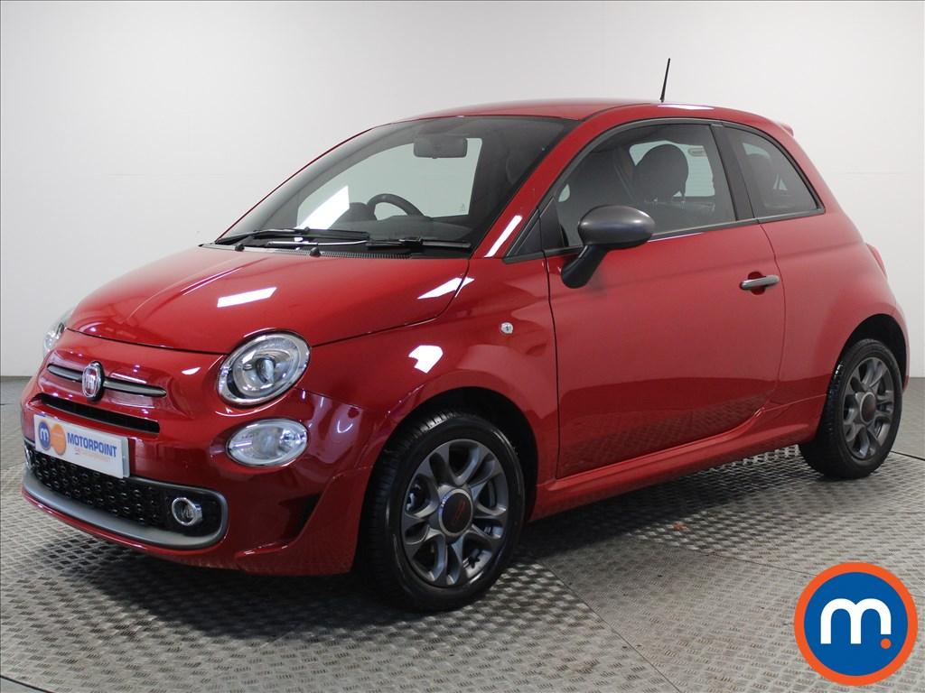 Fiat 500 S - Stock Number 1058333 Passenger side front corner