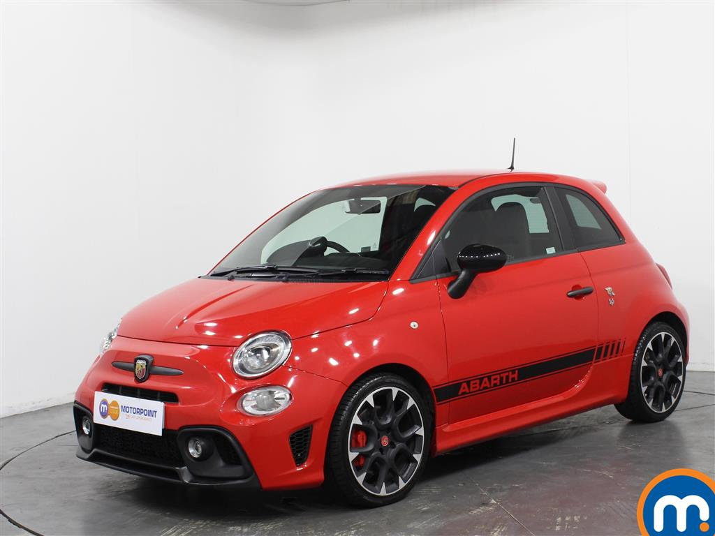Abarth 595 Competizione - Stock Number 1058202 Passenger side front corner