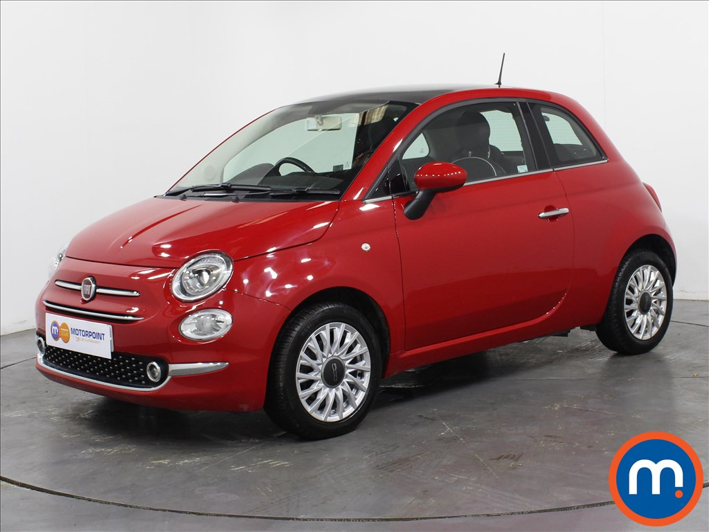 Fiat 500 Lounge - Stock Number 1063364 Passenger side front corner