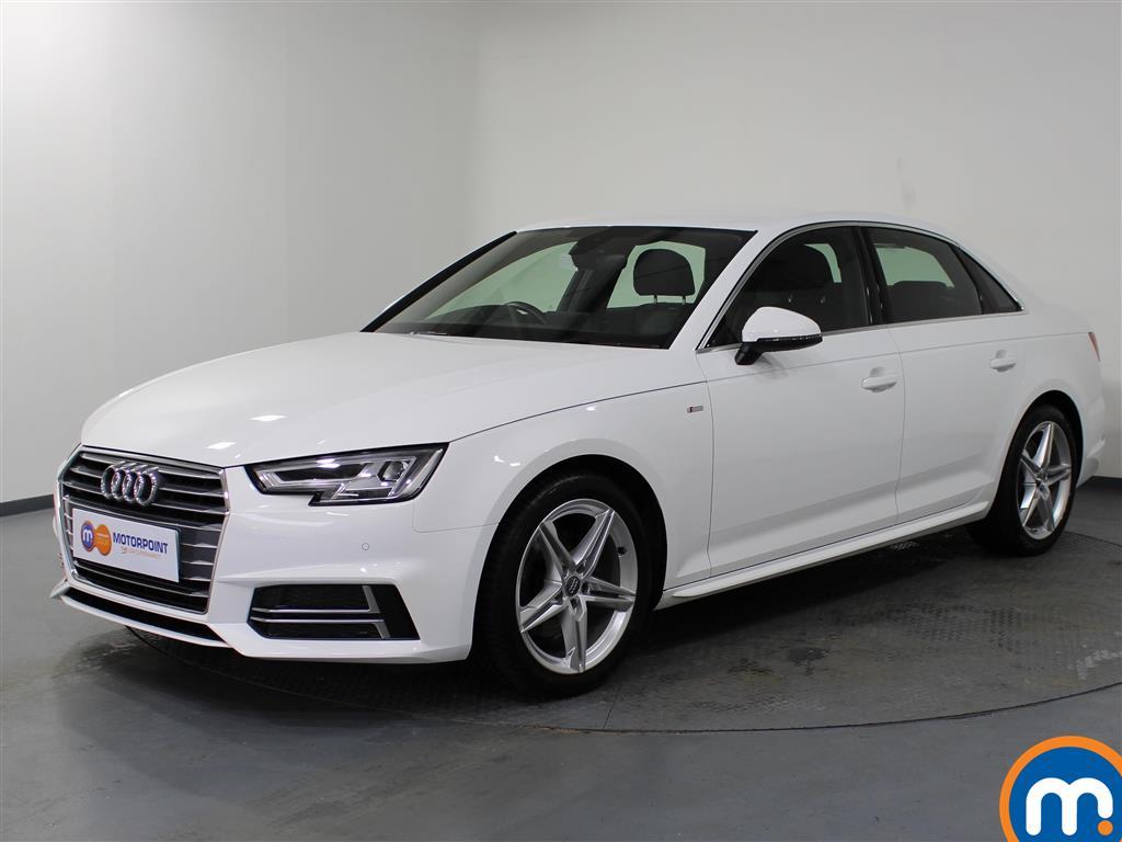 Audi A4 S Line - Stock Number 1060914 Passenger side front corner