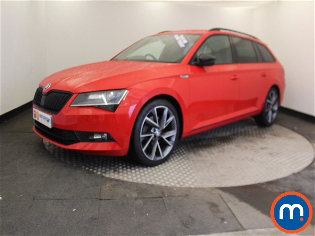 Skoda Superb Sport Line - Stock Number 1061384 Passenger side front corner