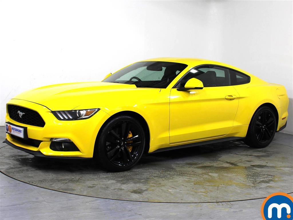 Ford Mustang 2.3 EcoBoost 2dr - Stock Number 1062708 Passenger side front corner