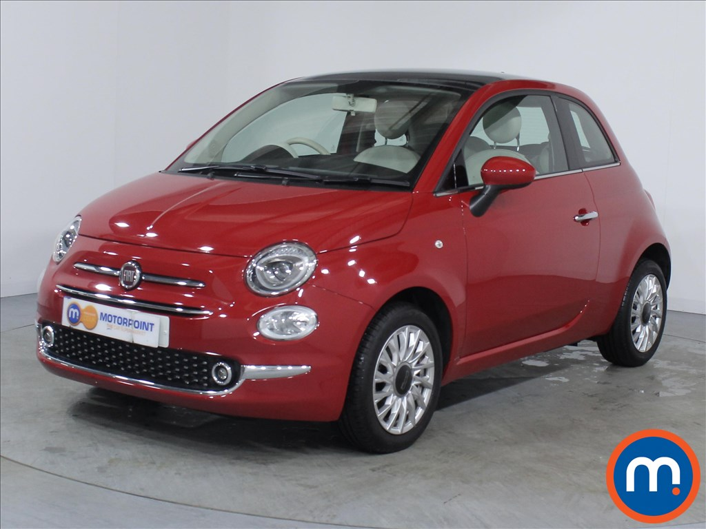 Fiat 500 Lounge - Stock Number 1063788 Passenger side front corner