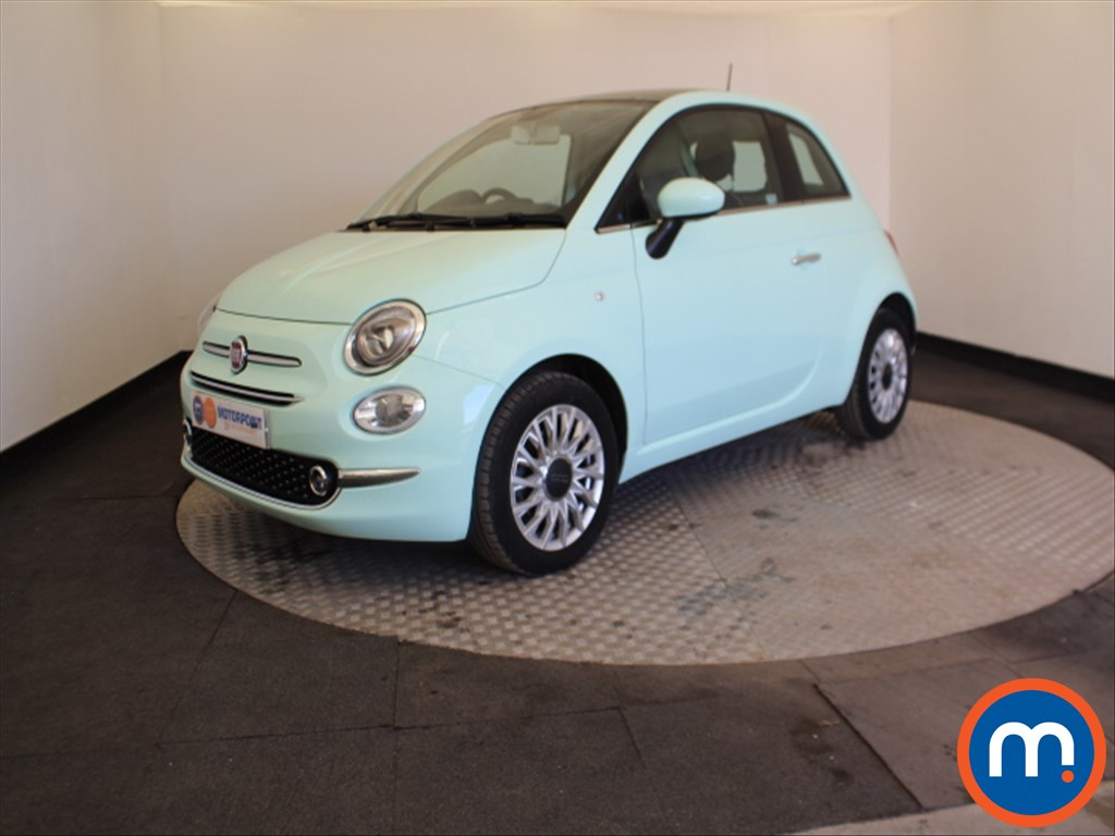 Fiat 500 Lounge - Stock Number 1064326 Passenger side front corner