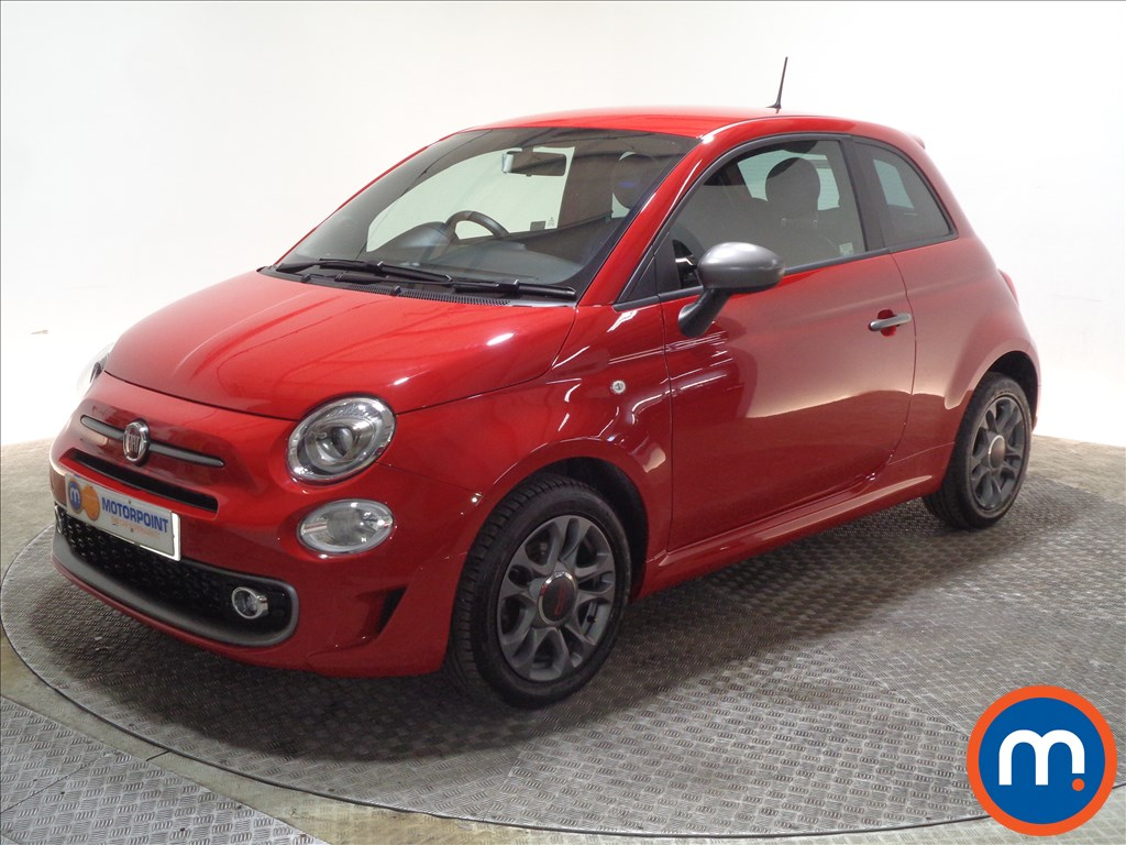 Fiat 500 S - Stock Number 1060780 Passenger side front corner