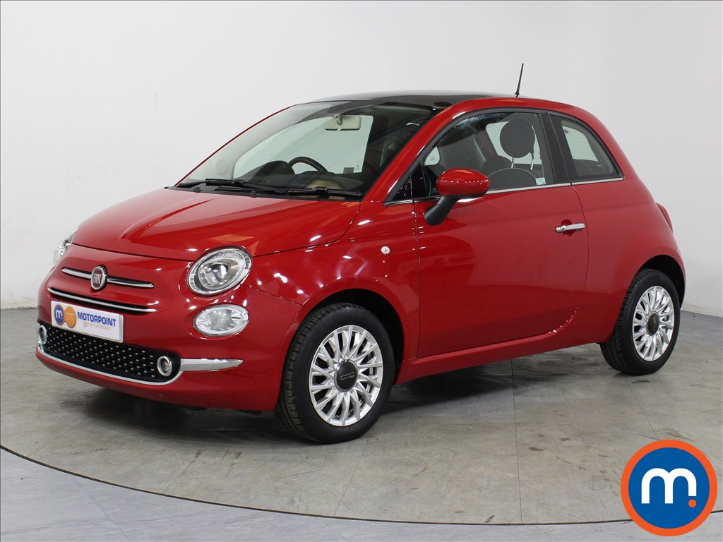 Fiat 500 Lounge - Stock Number 1057813 Passenger side front corner