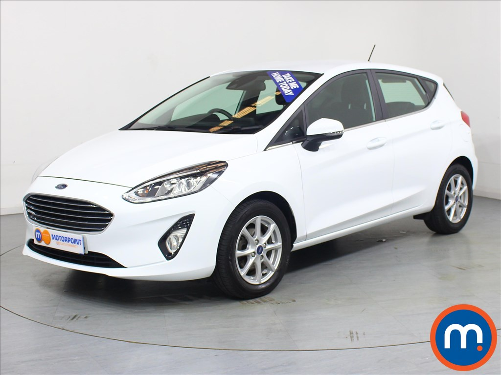Ford Fiesta Zetec - Stock Number 1061046 Passenger side front corner