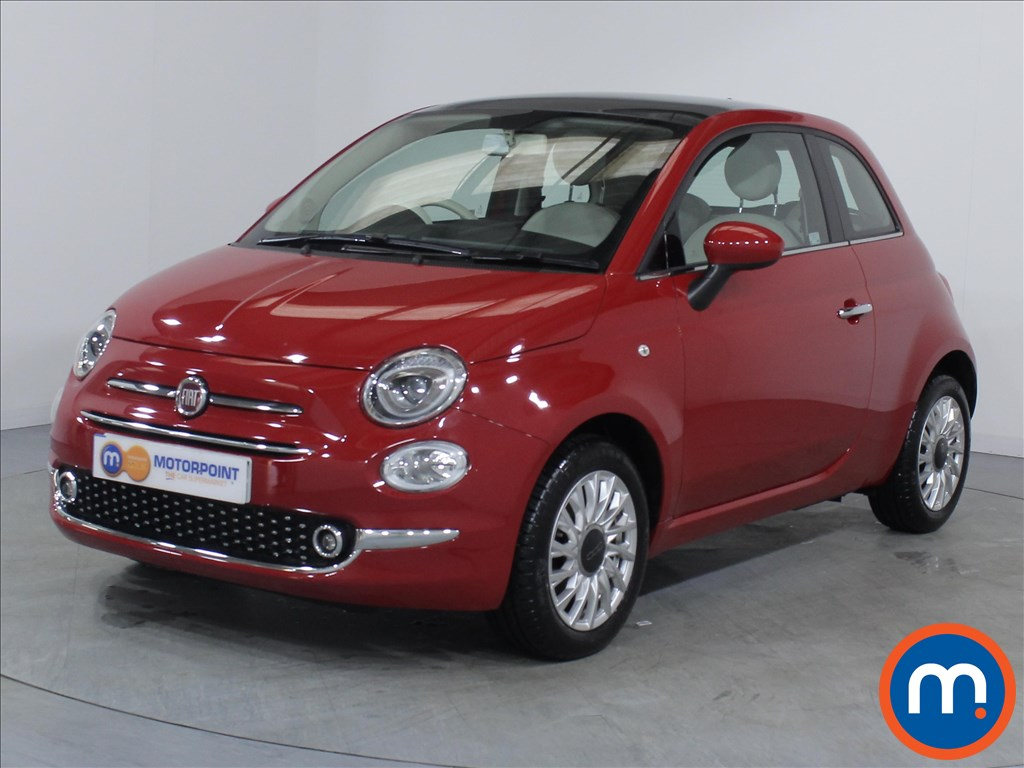 Fiat 500 Lounge - Stock Number 1064327 Passenger side front corner