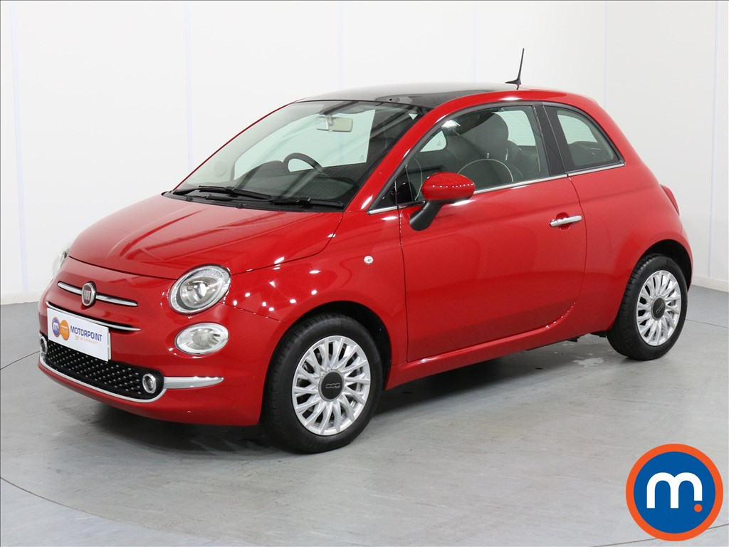 Fiat 500 Lounge - Stock Number 1063355 Passenger side front corner