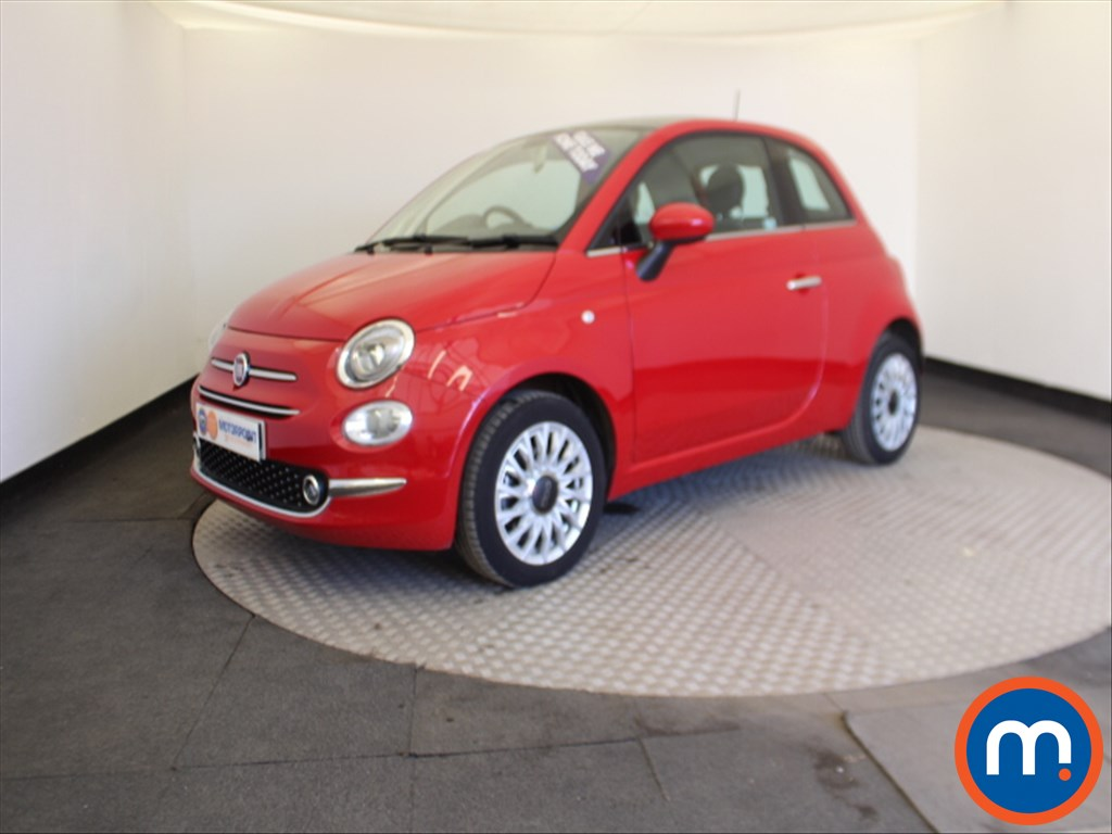 Fiat 500 Lounge - Stock Number 1062150 Passenger side front corner