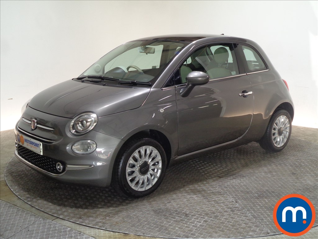 Fiat 500 Lounge - Stock Number 1063368 Passenger side front corner