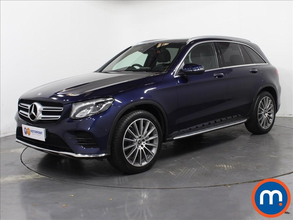 Mercedes-Benz GLC AMG Line - Stock Number 1062356 Passenger side front corner