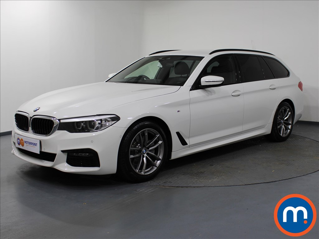 BMW 5 Series M Sport - Stock Number 1062189 Passenger side front corner