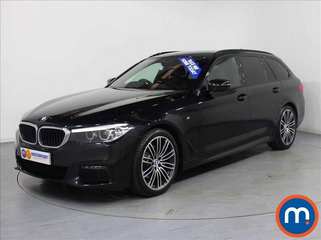 BMW 5 Series M Sport - Stock Number 1061397 Passenger side front corner