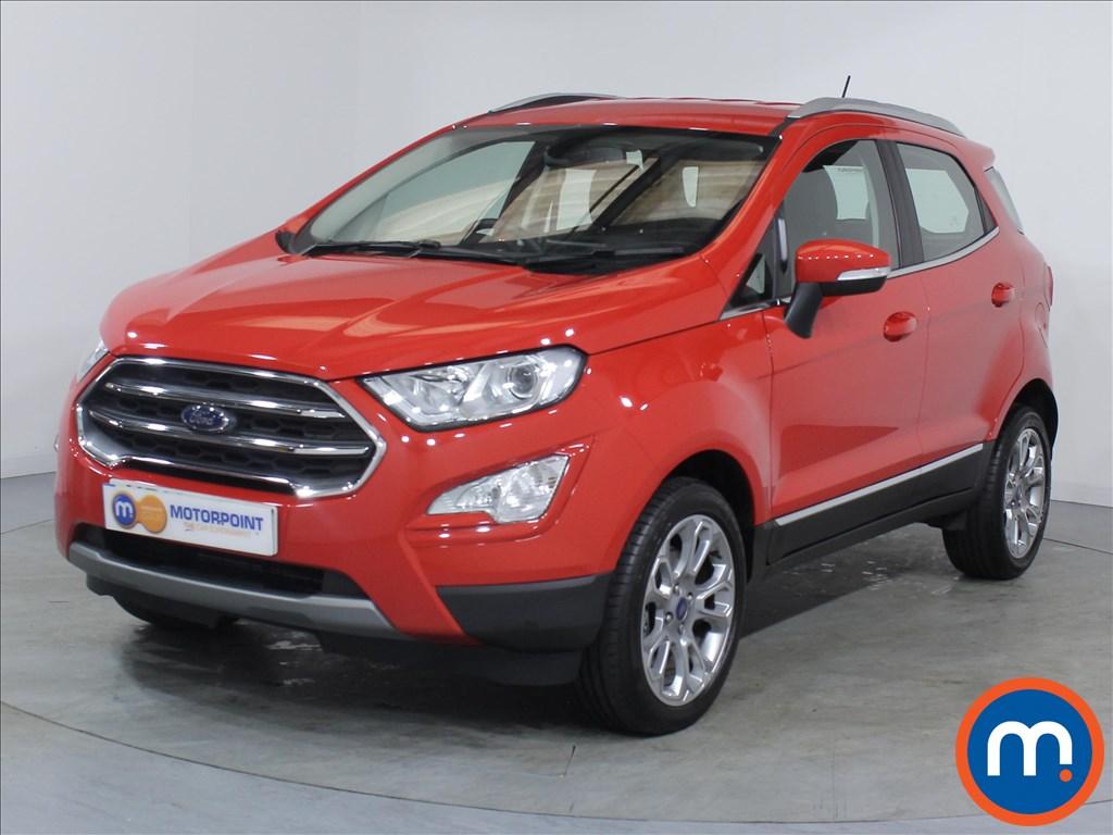 Ford Ecosport Titanium - Stock Number 1063917 Passenger side front corner