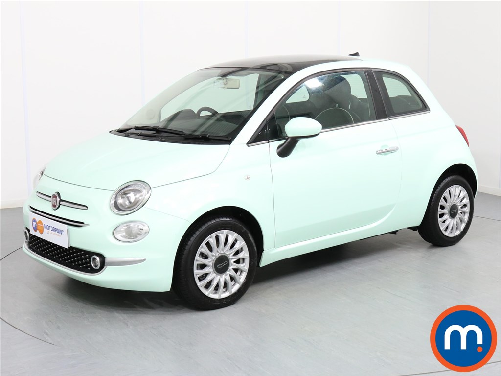 Fiat 500 Lounge - Stock Number 1064321 Passenger side front corner