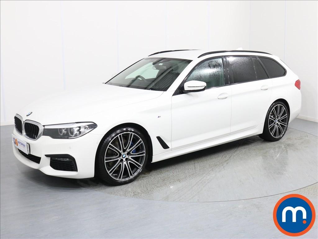 BMW 5 Series M Sport - Stock Number 1062163 Passenger side front corner