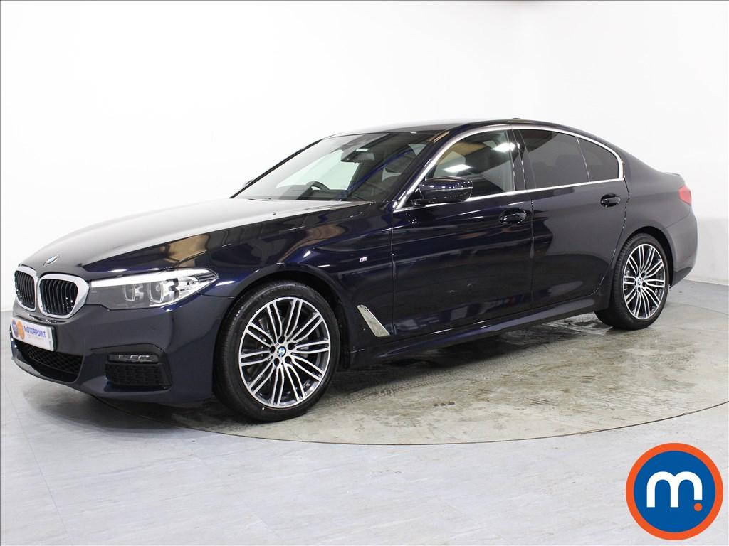 BMW 5 Series M Sport - Stock Number 1061381 Passenger side front corner