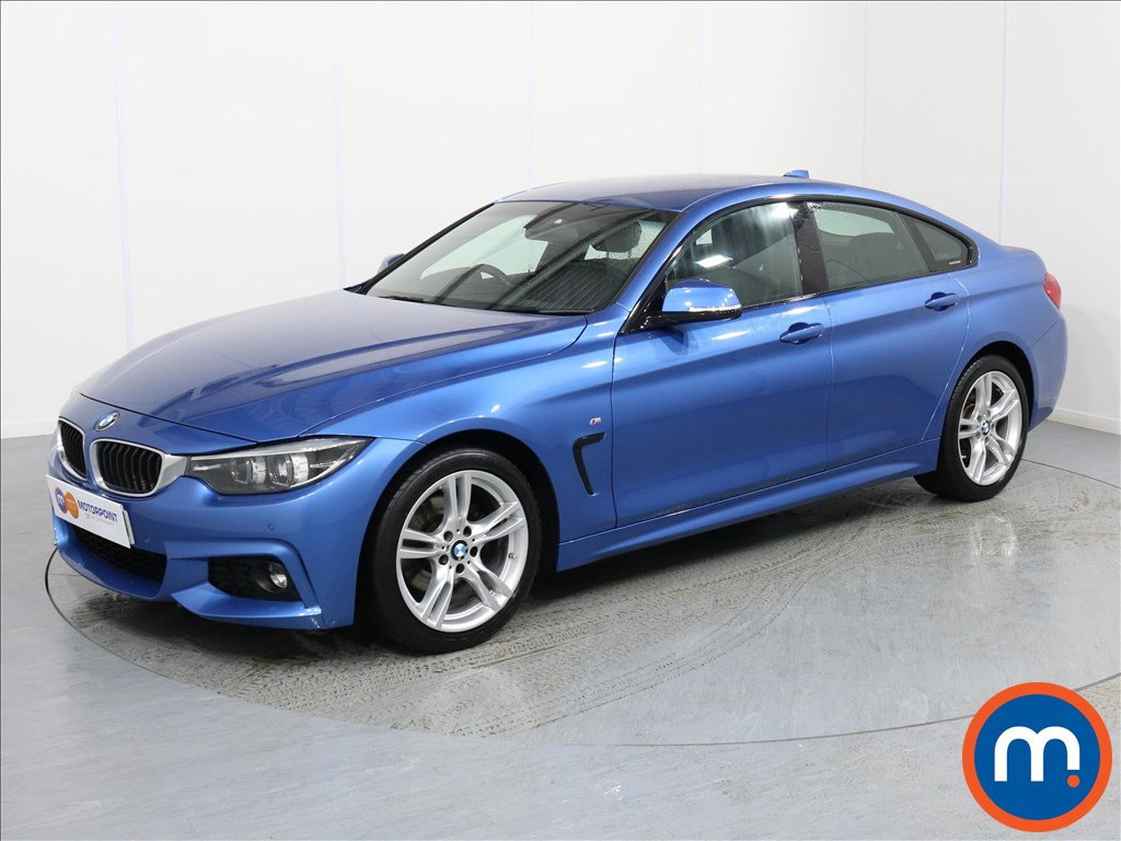 BMW 4 Series M Sport - Stock Number 1064286 Passenger side front corner