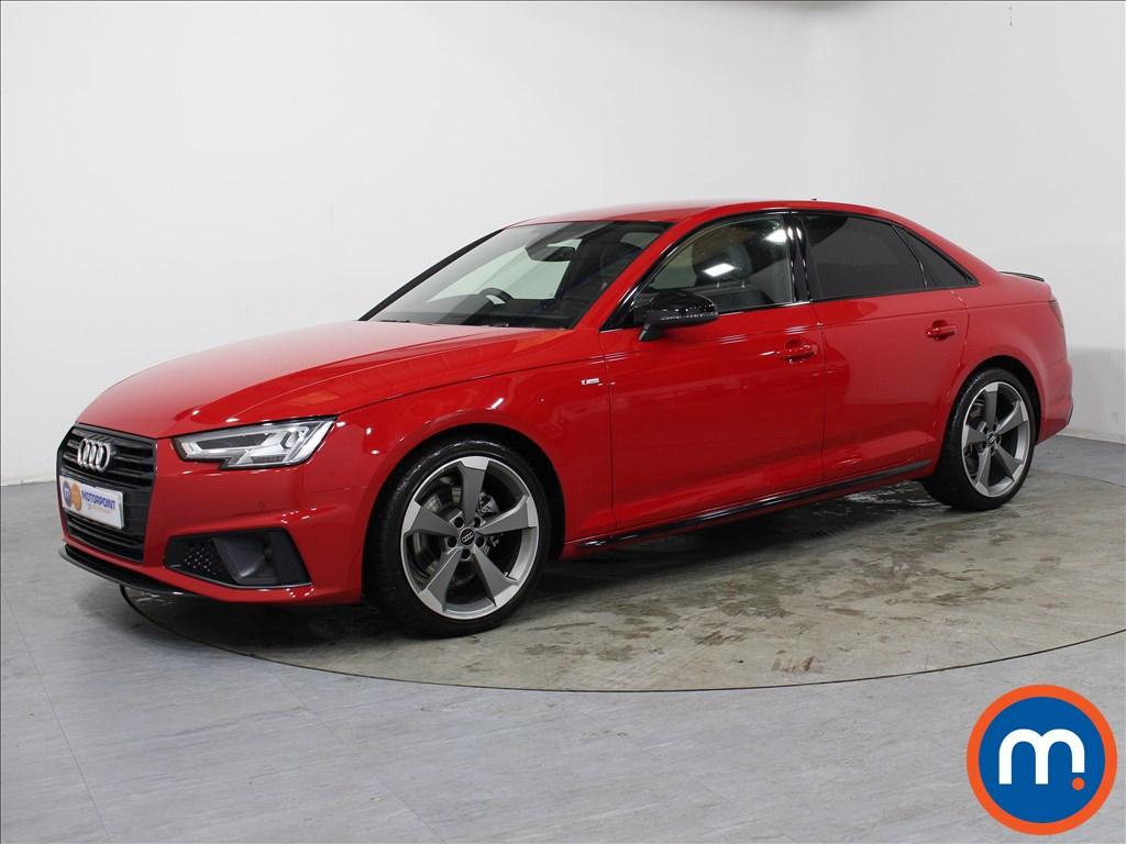 Audi A4 Black Edition - Stock Number 1051474 Passenger side front corner