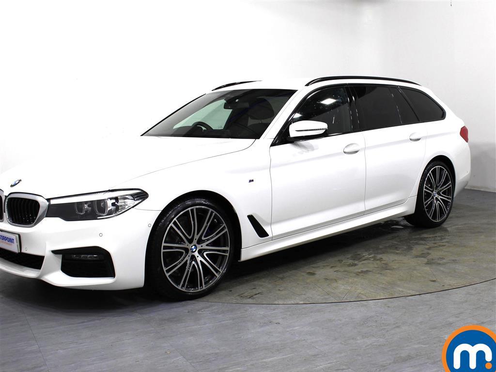 BMW 5 Series M Sport - Stock Number 1062156 Passenger side front corner