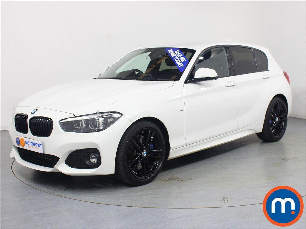 BMW 1 Series M Sport Shadow Edition - Stock Number 1062785 Passenger side front corner