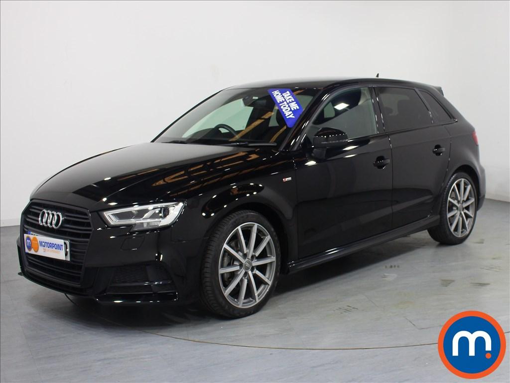 Audi A3 Black Edition - Stock Number 1063733 Passenger side front corner