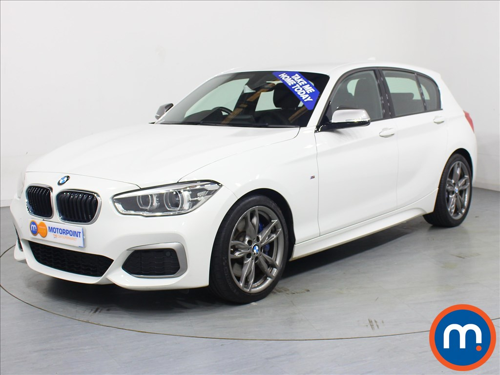 BMW 1 Series M140i - Stock Number 1064446 Passenger side front corner