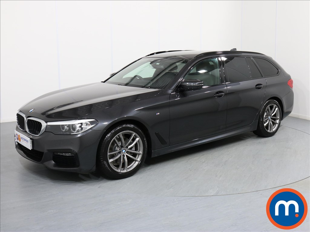 BMW 5 Series M Sport - Stock Number 1062175 Passenger side front corner