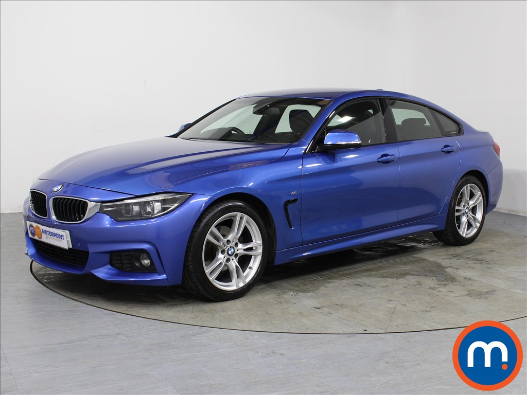 BMW 4 Series M Sport - Stock Number 1059569 Passenger side front corner