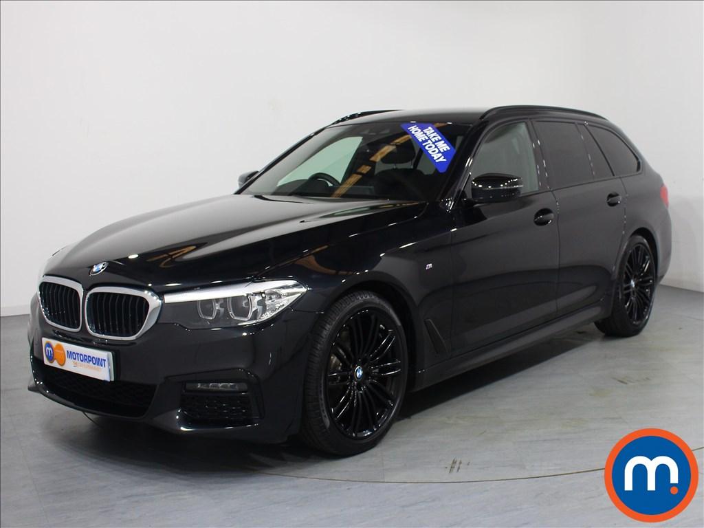 BMW 5 Series M Sport - Stock Number 1061366 Passenger side front corner