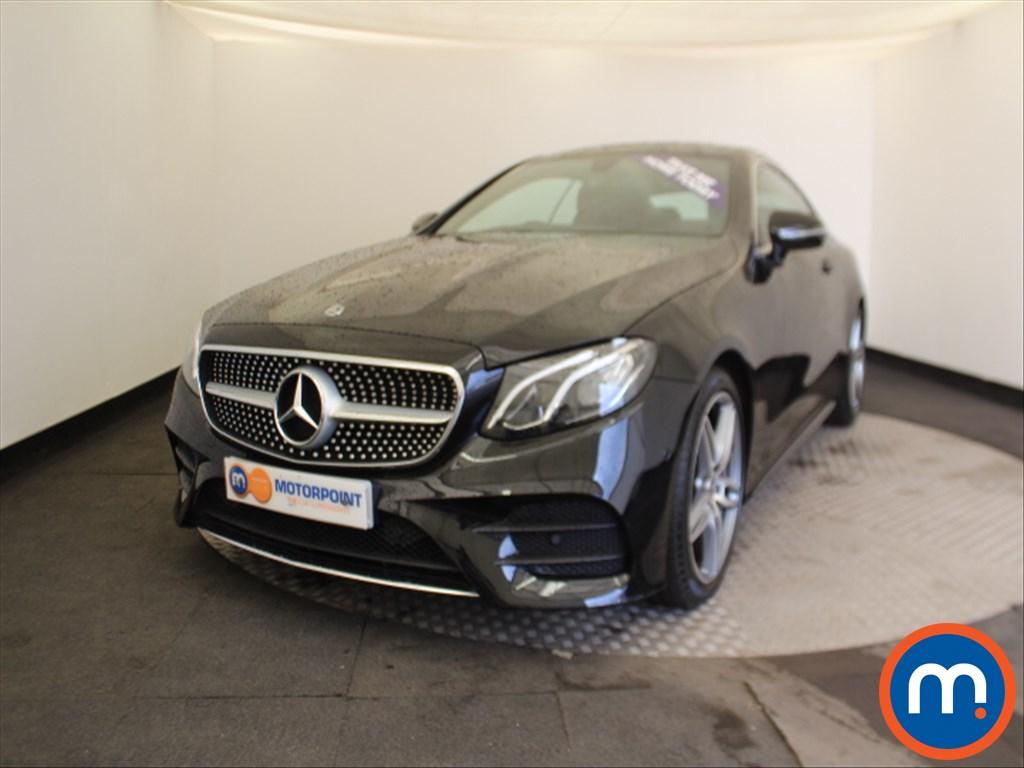 Mercedes-Benz E Class AMG Line - Stock Number 1034228 Passenger side front corner